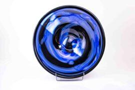 schaal zwart blauw