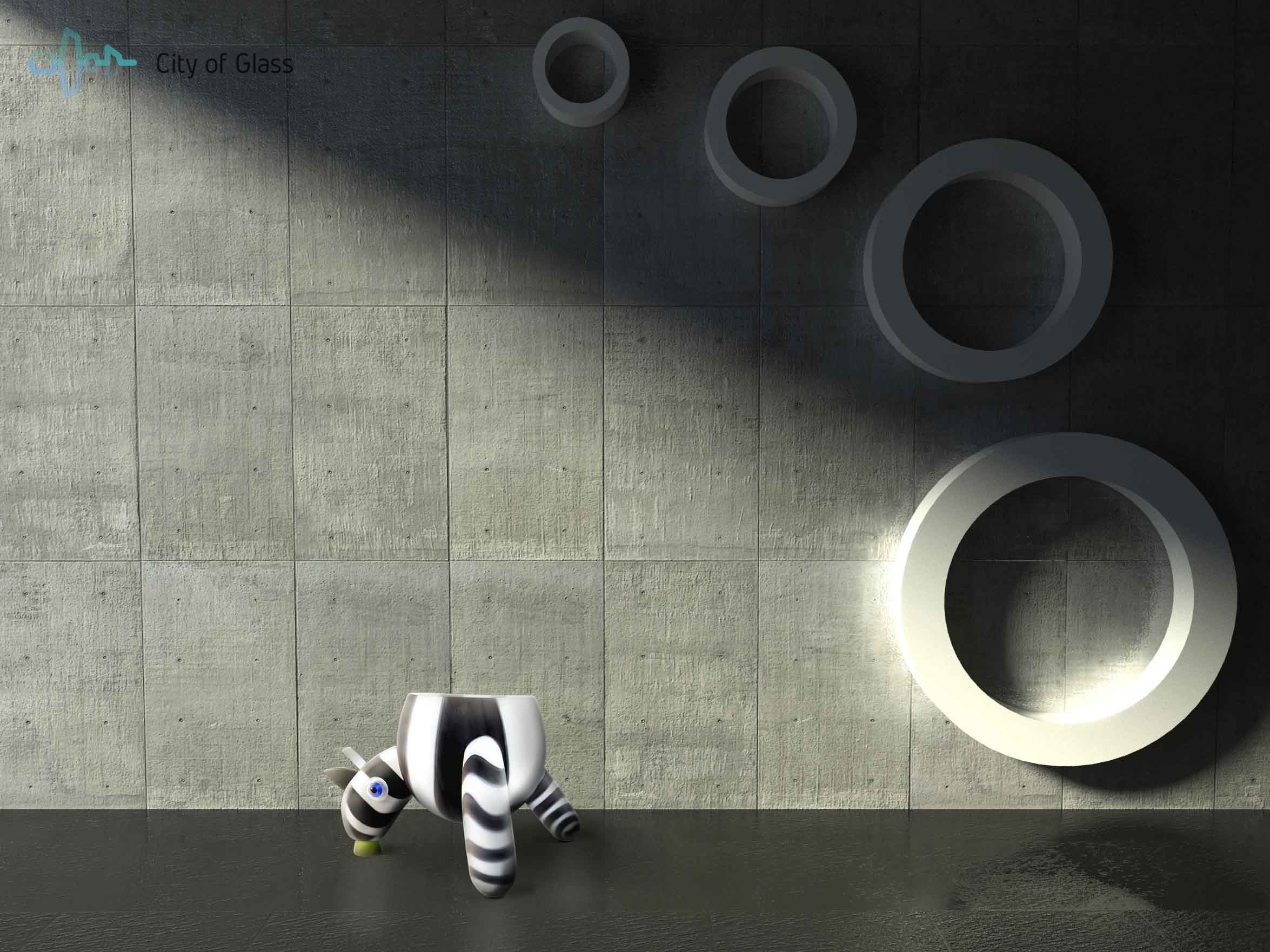 grote interieurobject zebra van loranto,