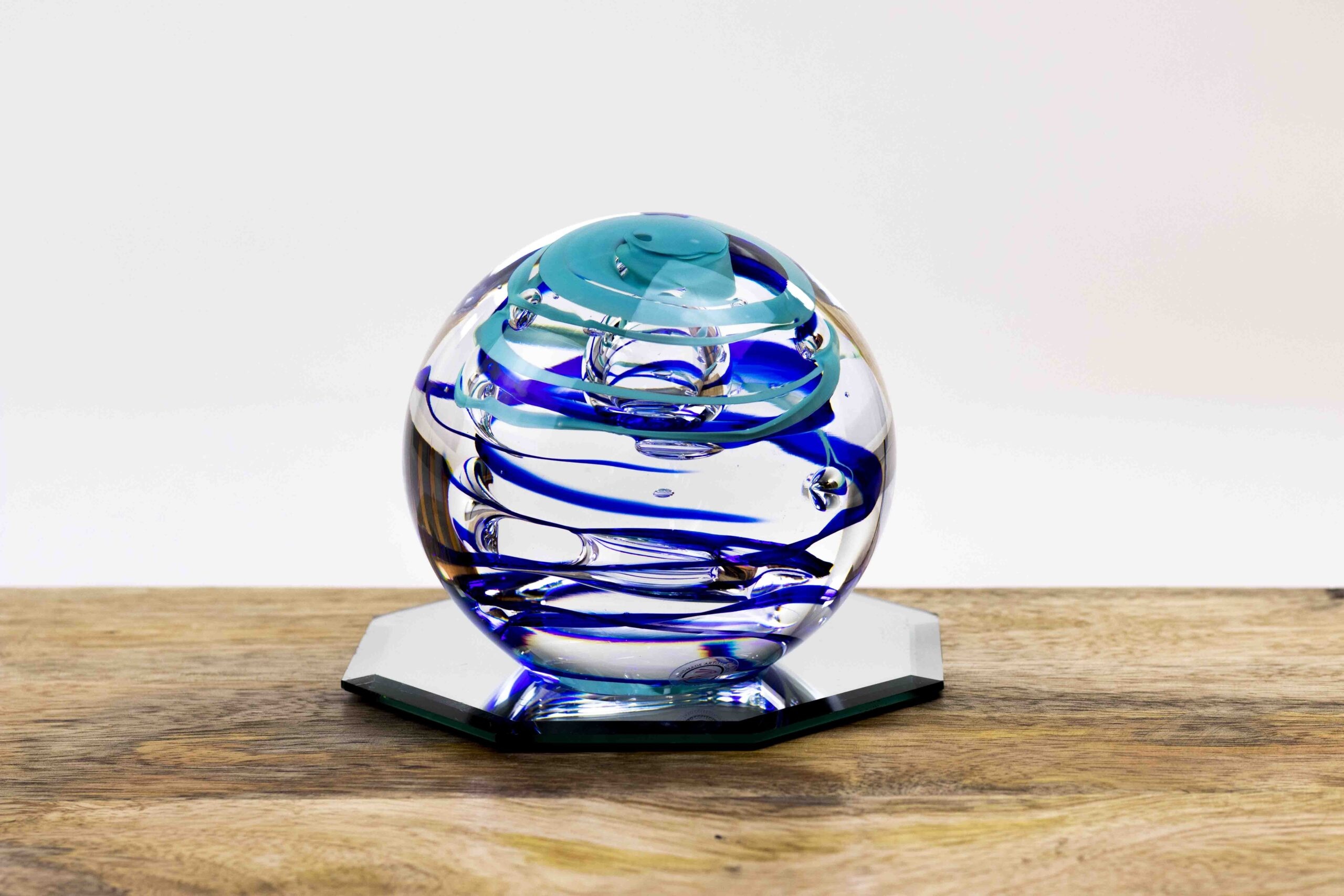 Luxe Glascadeau Kristallen Bol van Ozzaro