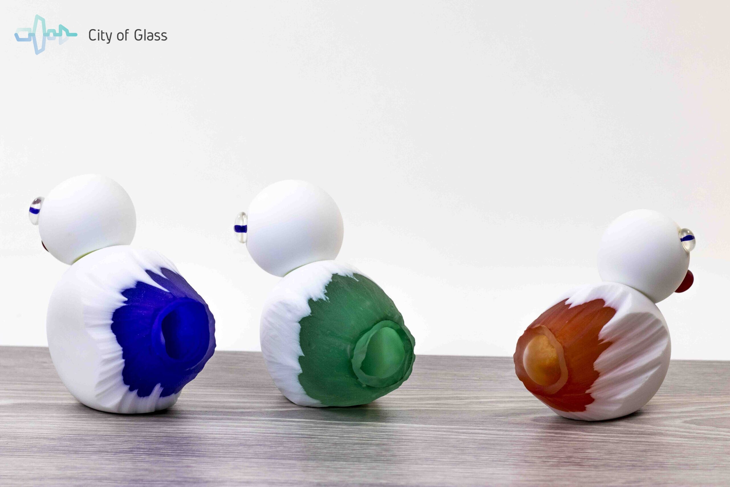 Glazen Eend DUCK Glascadeau Loranto Glas