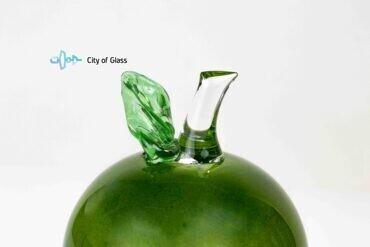 appel van glas groen,