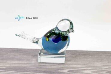mini urn vogel hemel blauw loranto,