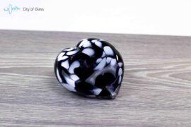 mini urn zwart wit loranto,