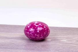 mini urn steen roze,