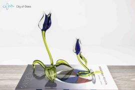 tulpen blauw staand,