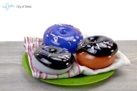 Donuts van glas