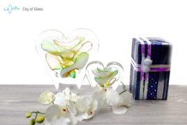 Kristallen hart Ozzaro Groot Groen Sfeer