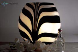 Lamp zebra 13.40.56 sfeer aan