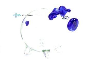 Spaarvarken Blauwe snuit