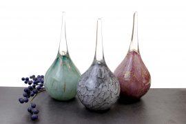 Urn Druppel 30cm van glas