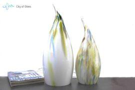 Glazen Lamp monet sfeer