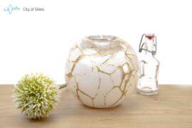 Theelicht van glas